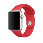 Tech-Protect SmoothBand [Red], Pasek do Apple Watch 1/2/3 (42mm)
