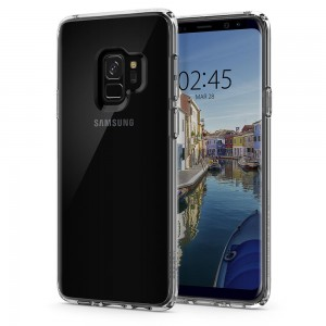 Spigen Ultra Hybrid [Crystal Clear], Etui dla Galaxy S9 Plus