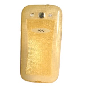 NewWay Glitter [Gold], Etui z brokatem do Galaxy S3