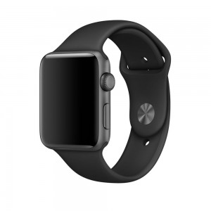 Tech-Protect SmoothBand [Black], Pasek do Apple Watch 1/2/3 (42mm)