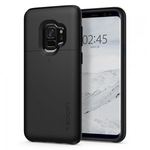 Spigen Slim Armor CS [Black], Etui dla Galaxy S9 Plus