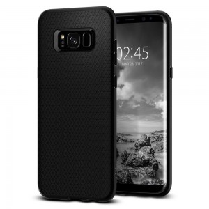 Spigen SGP Liquid Air [Black], Etui dla Galaxy S8