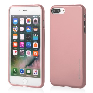 Mercury/Goospery i-Jelly Case [Rose Gold], Pokrowiec silikonowy dla iPhone 7/8