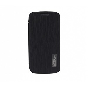 ROCK Elegant [Black],  Etui dla Galaxy S4 mini