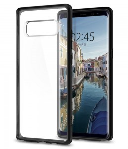 Spigen Ultra Hybrid [Black], Etui dla Galaxy Note 8