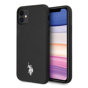 US Polo  iPhone 11 czarny /black Polo Type Collection