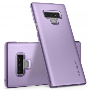 Spigen Thin Fit [Lavender], Etui dla Galaxy Note 9