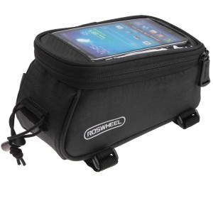 Roswheel Bicycle Smart Phone Bag [Black], Etui z torbą na rower dla Smartfonów do max 4.8""