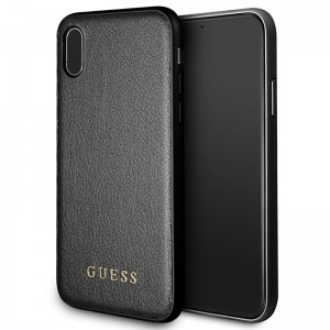 Guess Iridescent [Black], Etui dla iPhone X