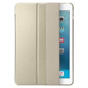 Spigen Smart Fold [Gold], Futerał dla iPad 9.7 2017/2018
