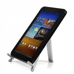 Extreme Style Mobile Stand for Tablets [Silver], Przenosna podstawka na Tablet