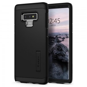 Spigen Tough Armor [Black], Etui & stojaczek dla Galaxy Note 9