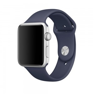 Tech-Protect SmoothBand [Midnight Blue], Pasek do Apple Watch 1/2/3 (42mm)