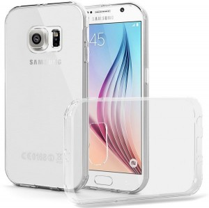 Best Solution Crystal Cover [Clear], Ultra cienkie etui dla Galaxy S6