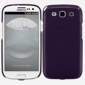 SwitchEasy NUDE [Purple],  Etui dla Samsung GALAXY S3