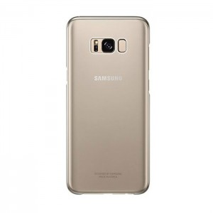 Samsung Clear Cover [Gold], Etui do Galaxy S8