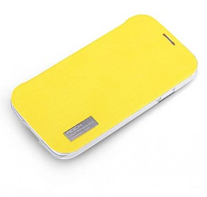 ROCK Elegant [Yellow], Etui dla Galaxy S4 mini