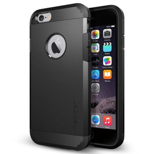 Spigen SGP Tough Armor [Black], Bezpieczne etui do iPhone 6/6S