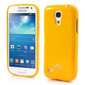 Mercury/Goospery Jelly Case [Yelow], Pokrowiec dla GALAXY S4mini