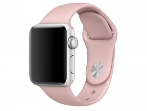 Tech-Protect SmoothBand [Pink Sand], Pasek do Apple Watch 1/2/3 (42mm)