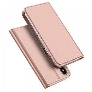 "DuxDucis SkinPro [Rose Gold], Etui notesowe do iPhone X/XS (5.8"")"