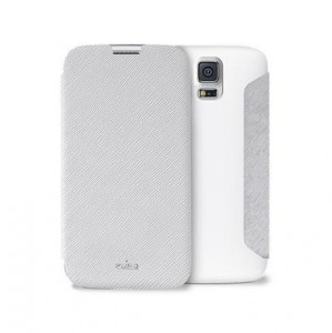PURO Wallet Case [White], Futerał dla Galaxy S5