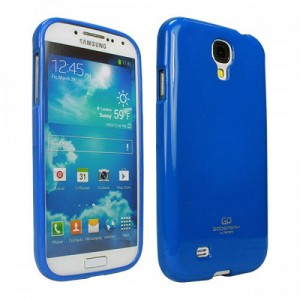 Mercury/Goospery Jelly Case [Blue], Pokrowiec dla GALAXY S4mini