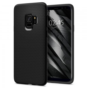 Spigen Liquid Air [Matte Black], Etui dla Galaxy S9+ Plus