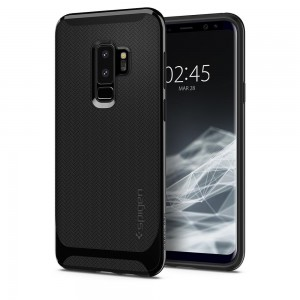 Spigen Neo Hybrid [Shinny Black], Etui dla GALAXY S9+ Plus