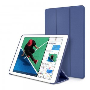 Tech-Protect SmartCase [Navy Blue], Etui & stojaczek dla iPad 9.7 2017