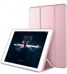 "Tech-Protect SmartCase [Rose Gold], Etui & stojaczek dla iPad 9.7"" 2017/2018"