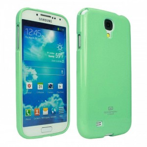 Mercury/Goospery Jelly Case [Mint], Pokrowiec dla GALAXY S4mini