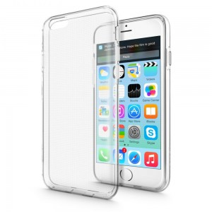 Mercury/Goospery Jelly Case [Clear], Pokrowiec silikonowy dla iPhone 6/6s