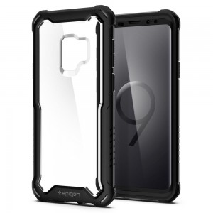 Spigen Hybrid 360 [Black], Etui dla Galaxy S9 Plus