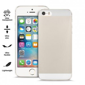 PURO Nude 0.3 [Clear], Ultra cienkie etui dla iPhone 5/5S/SE