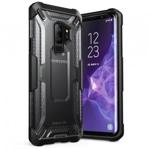 SUPCASE Unicorn Hybrid [Black/Frost], Pancerne etui do Galaxy S9+ Plus