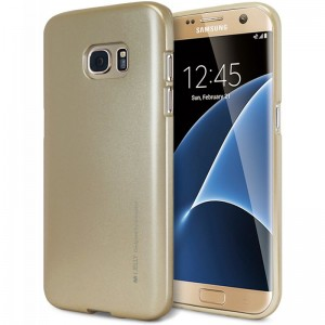Mercury/Goospery iJelly Case [Gold], Pokrowiec dla GALAXY S7 Edge