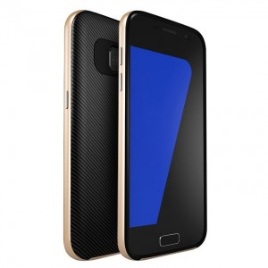 U.Case Carbon Frame [Gold], Etui dla Galaxy S7