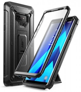 SUPCASE Unicorn Beetle Pro [Black], Pancerne etui z klipsem do Galaxy Note 9