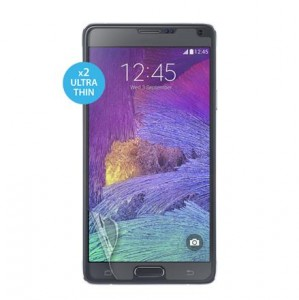 PURO Screen Protector, 2x folia na ekran dla Galaxy Note 4