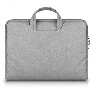 Tech-Protect Briefcase [Light Grey], Pokrowiec/torba dla Macbook Air/Pro 13""