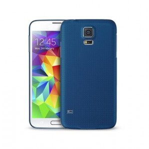 "PURO Ultra Slim ""0.3"" Cover [Blue], Ultra cienkie etui dla Galaxy S5"