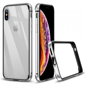 ESR Crown [Silver], Bumper do iPhone X/XS