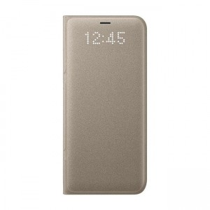 Samsung Led View Cover [Gold], Oryginalne etui dla Galaxy S8